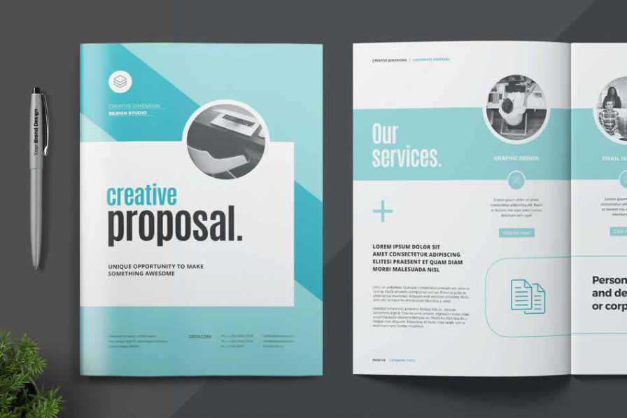 proposal print business template format
