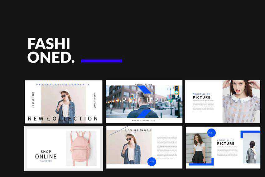 Fashion Stylist Powerpoint Template