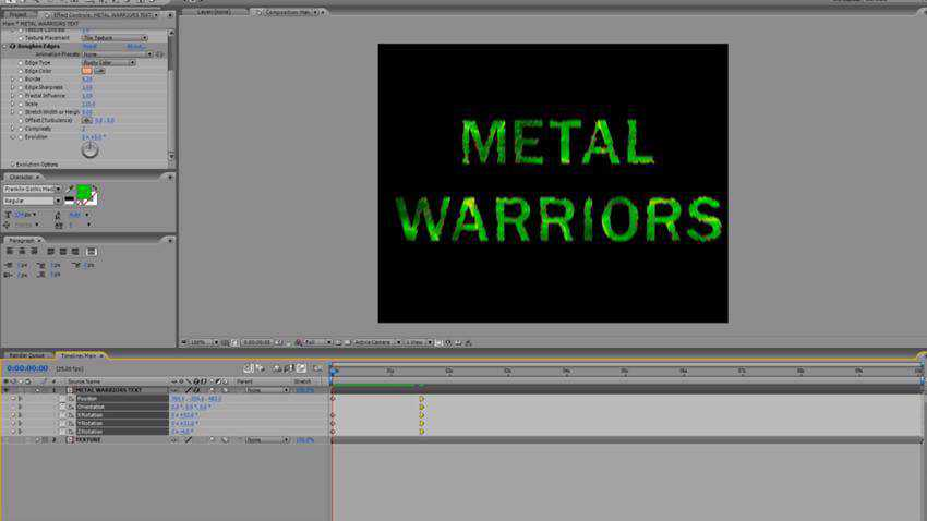 How to Create 3D Sci-Fi Metallic Typography