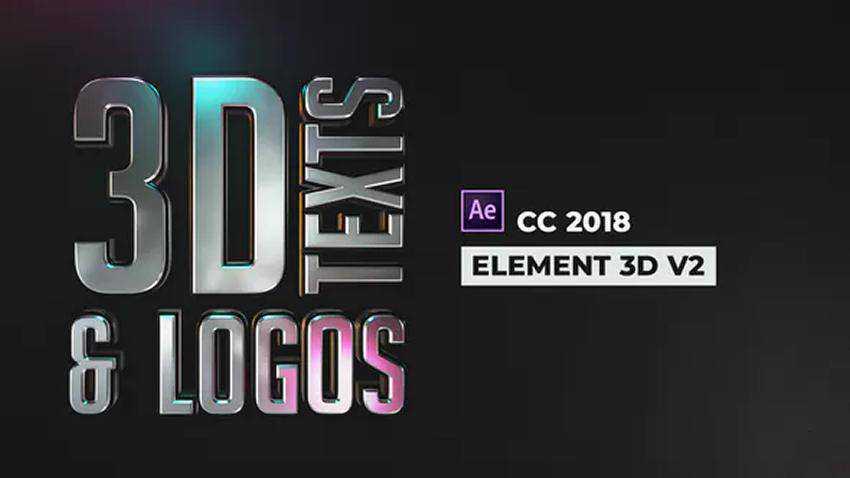 Stylish 3D Texts and Logos