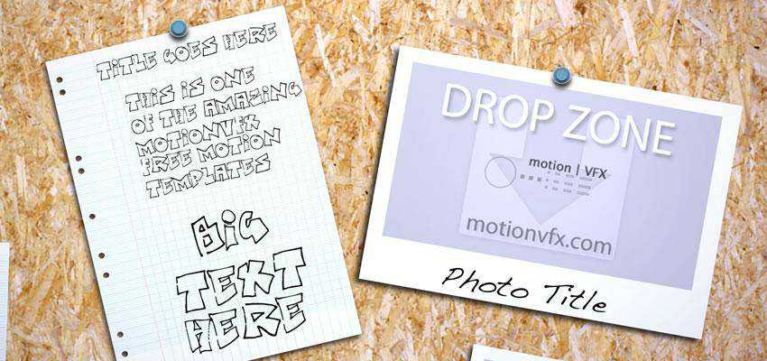 Noticeboard Motion Template