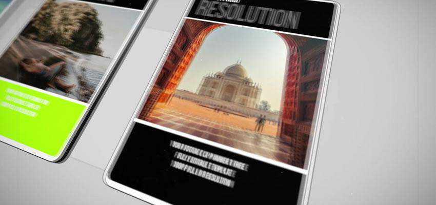 Simple Slideshow Apple Motion Template