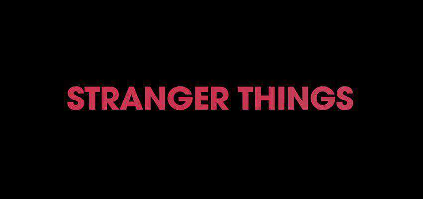 Stranger Things Text Effect for After Effects