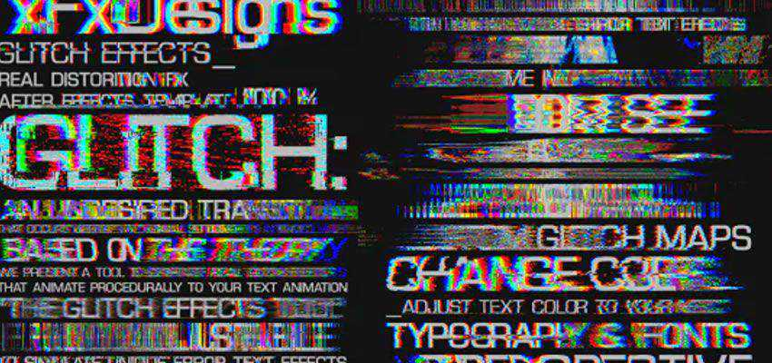 Glitch Text Effects Toolkit