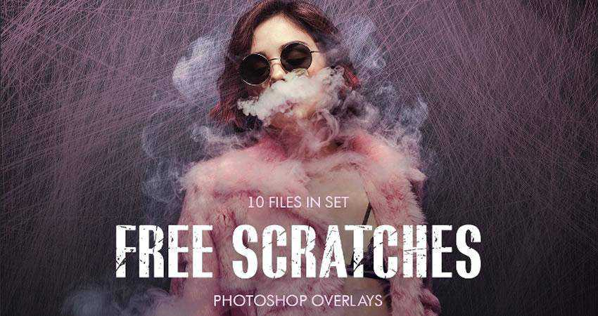 Scratch Overlays Photography Effects