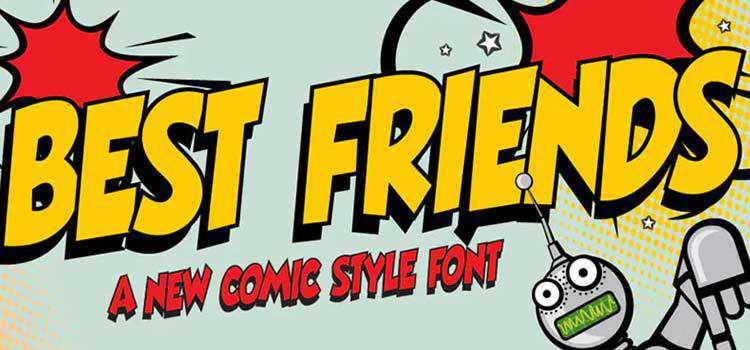 Example from The 20 Best Free Fonts for Comic Books & Cartoons
