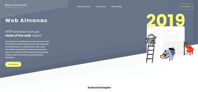 Example from Web Almanac 2019