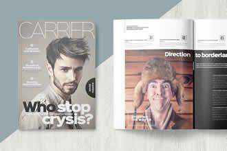 Clean Magazine Template