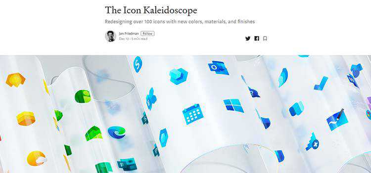Example from The Icon Kaleidoscope