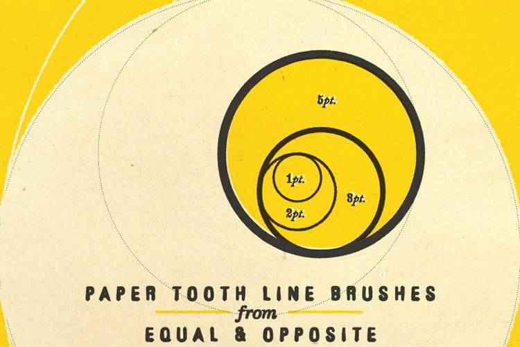 Example from 18 Free High-Resolution Adobe Illustrator Brush Packs