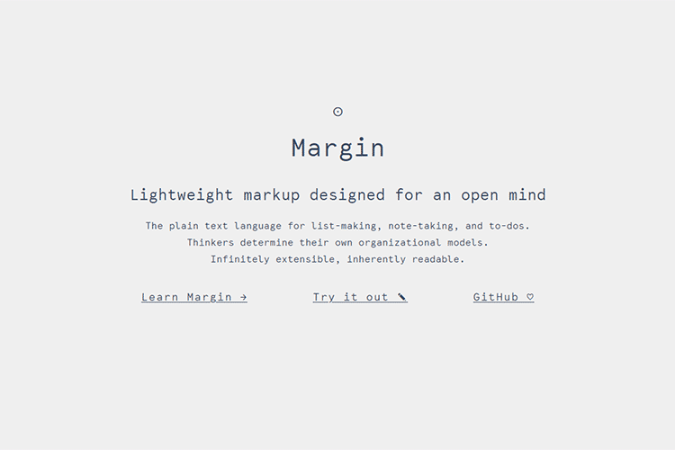 Example from Margin