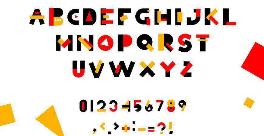 Simbox Geometric logo font typeface logotype