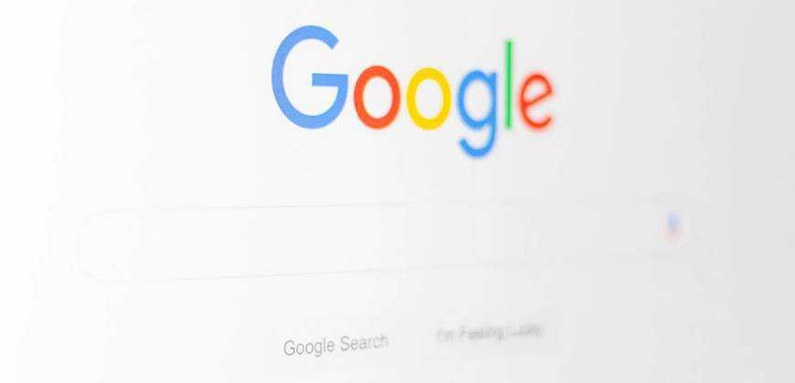 Google search button