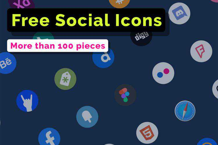 Example from Free Social Icons