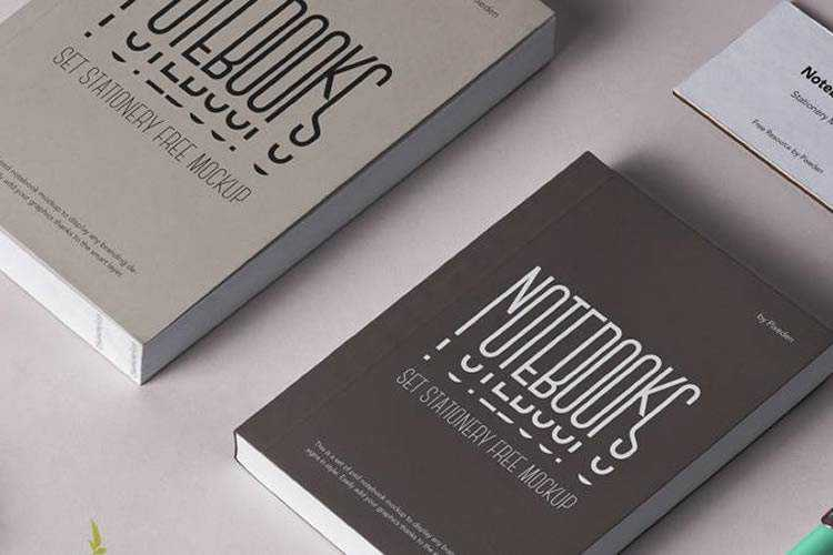 Example from 20 Best Free Book Mockup Templates for Photoshop