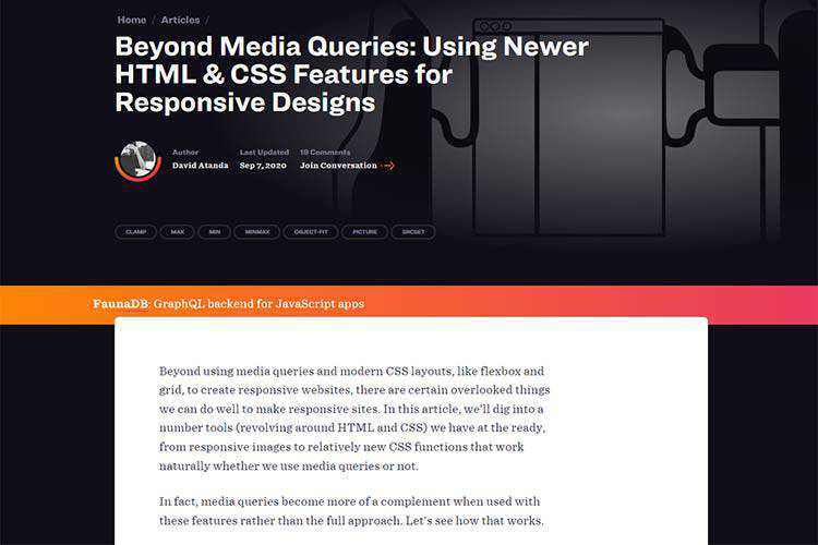 Example from Beyond Media Queries: Using Newer HTML & CSS Features for Responsive Designs
