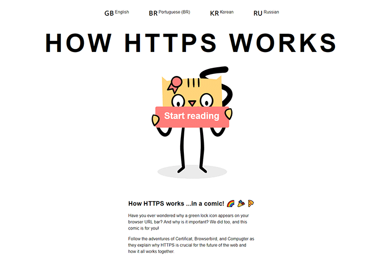 Example from How HTTPS Works