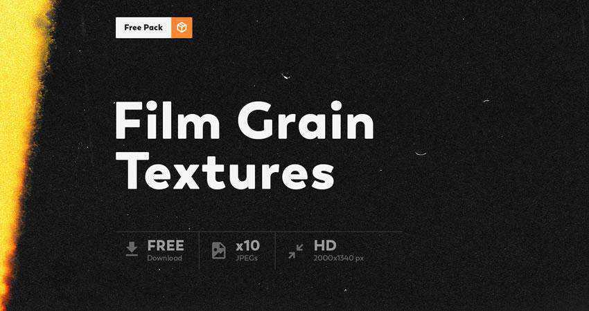 Film Grain free high-res textures