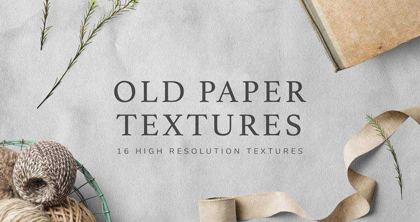Vintage Paper free high-res textures