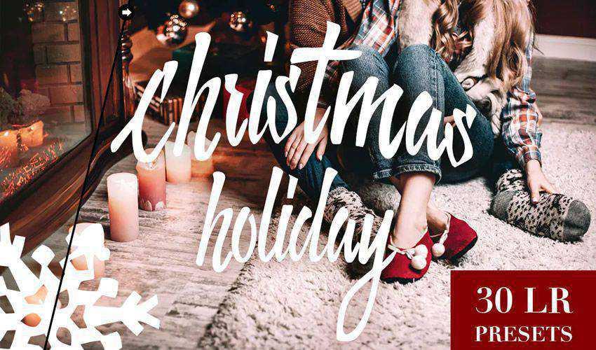 Free Christmas Holiday Lightroom Presets