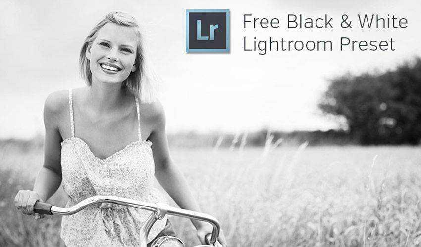 Black & White Lightroom Preset