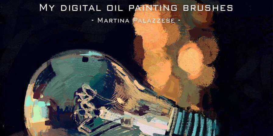 Martina Palazzese Digital Oil Painting Brushes free photoshop brushes ABR