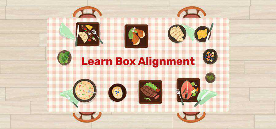 Learn Box Alignment web-based tool free web design example