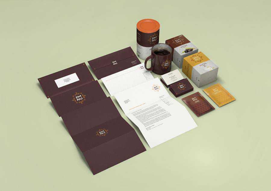 im nu Packaging brand identity design inspiration logo