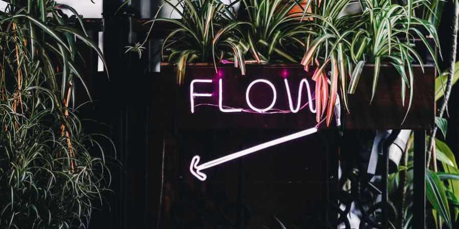 direction arrow flow design
