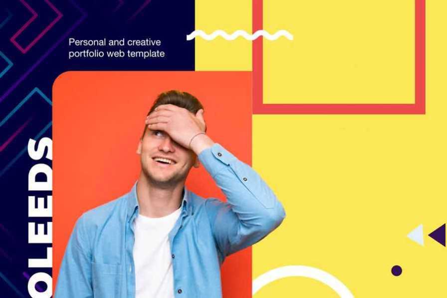 Perfolio free resume html templates cv