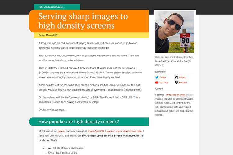 Example from Serving sharp images to high density screens