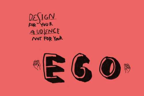 Example from Dealing With Your Ego as a Designer