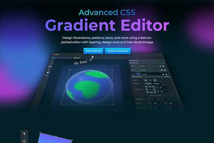 Example from GradientArt