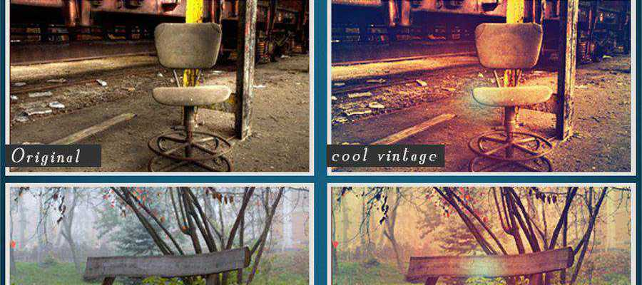 Cool Vintage free photoshop action atn