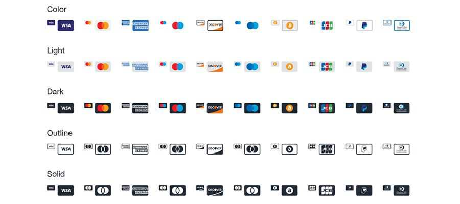 Payment Method Icons Sketch Adobe XD Figma Illustrator AI Free Payment Icon Set Credit Cards