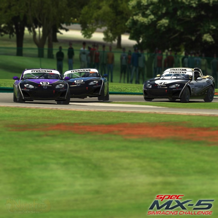 Spec MX-5 SimRacing_2 Images courtesy of Steven Burbage, NghtFox Designs