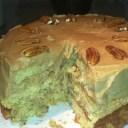SALTED CARAMEL PECAN CAKE