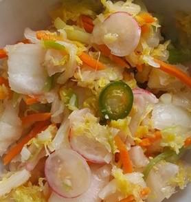 Summer kimchi 1