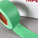 Green 8 day painters tape