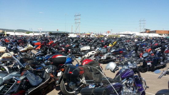 Sturgis - sea of bikes