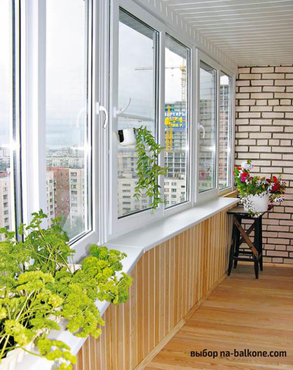 Внутренняя отделка балкона: лоджия своими руками, внутри ...