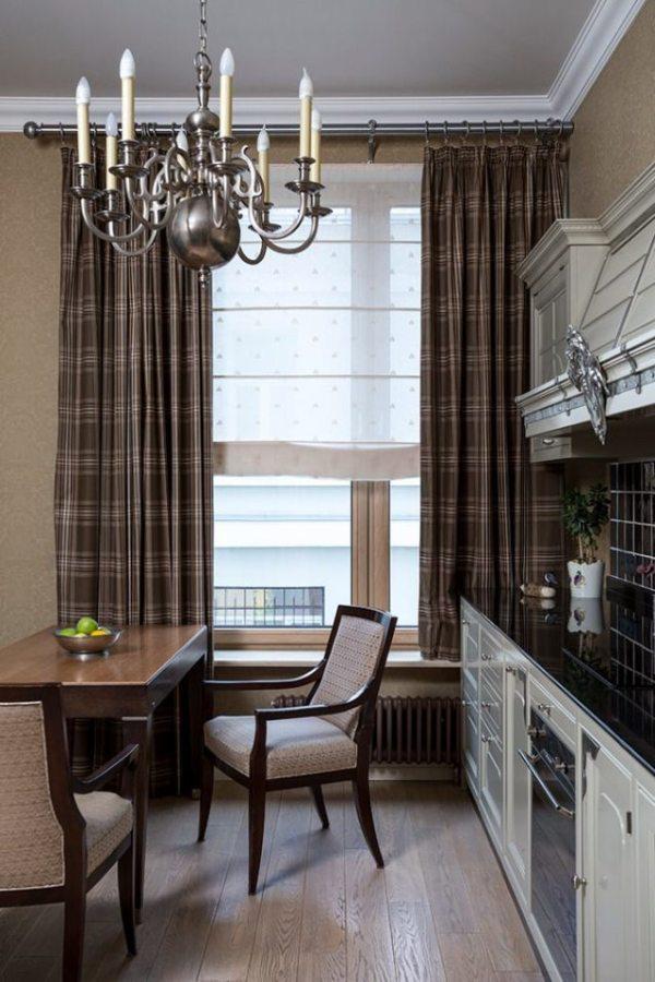 Классические шторы: в стиле классика, фото в интерьере ...