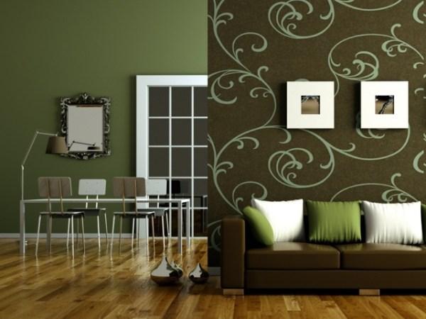 Какие шторы подойдут к зеленым обоям фото: как подобрать ...