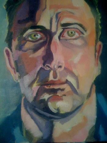 Model Portrait, Glazing