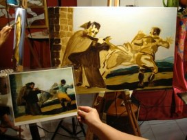 Copying a Master Underpainting