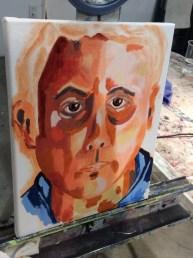 Self Portrait - Acrylic