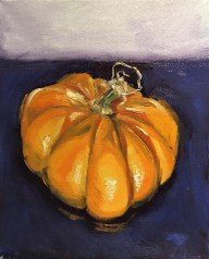"""The Great Pumpkin, Oil on canvas, 8"""" x 10"""""""