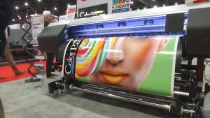 Trade Show Printer Display