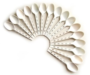 Image showing 16 spoons, to show the spoon theory, in an autism context. (ASD ASC)