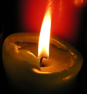 Candle - to illustrate that Autistic burnout - Burnout is a physiological symptom of system overload